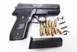 Sig Sauer .357 Sig Caliber P229 DAK Black Stainless 13 Shot Siglite® Night Sights 1 Magazine E29R357BSSDAK- 13 of 13