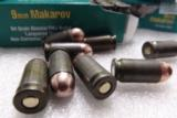 9mm Makarov 500 Round Lot of 10 Boxes 10x$13.90 94 grain FMJ Brown Bear Barnaul Russian Polymer Coated Steel Cases 9x18 918 Full Metal Jacket Case Amm - 4 of 8