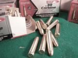 .30 Carbine 250 Round Lot of 5 Boxes Aguila 110 grain FMC Brass Case Full Metal Jacket Remington Affiliate 5x$24.50 - 9 of 14