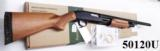 Mossberg 12 gauge model 500 Bantam 12 3/4 Buttstock Trench Gun type 18 inch Bright Blue & Checkered Hardwood 3 inch Vented Heat Shield Recoil Pad Exce - 14 of 14