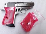 Walther PPK Grips Smith & Wesson variants translucent Hot Pink Polymer No PPKS No PP Screw Not Included adaptable to German & Interarms - 15 of 15