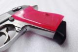 Walther PPK Grips Smith & Wesson variants translucent Hot Pink Polymer No PPKS No PP Screw Not Included adaptable to German & Interarms - 8 of 15