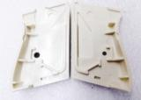 Walther PPK Grips Smith & Wesson variants White Polymer Imitation Ivory No PPKS No PP Screw Not Included adaptable to German & Interarms - 5 of 15