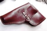 Walther PP Size Holster East German Military & Police Brown Leather Flap Type for 1001 Pistol PPK PPKS CZ50 CZ70 Fits Many 32 380 and 9x18 Makarov Cal - 7 of 13