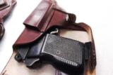 Walther PP Size Holster East German Military & Police Brown Leather Flap Type for 1001 Pistol PPK PPKS CZ50 CZ70 Fits Many 32 380 and 9x18 Makarov Cal - 10 of 13