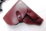 Walther PP Size Holster East German Military & Police Brown Leather Flap Type for 1001 Pistol PPK PPKS CZ50 CZ70 Fits Many 32 380 and 9x18 Makarov Cal - 1 of 13