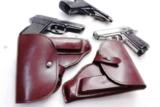 Walther PP Size Holster East German Military & Police Brown Leather Flap Type for 1001 Pistol PPK PPKS CZ50 CZ70 Fits Many 32 380 and 9x18 Makarov Cal - 2 of 13