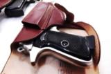 Walther PP Size Holster East German Military & Police Brown Leather Flap Type for 1001 Pistol PPK PPKS CZ50 CZ70 Fits Many 32 380 and 9x18 Makarov Cal - 8 of 13
