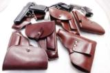 Walther PP Size Holster East German Military & Police Brown Leather Flap Type for 1001 Pistol PPK PPKS CZ50 CZ70 Fits Many 32 380 and 9x18 Makarov Cal - 11 of 13