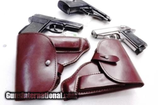 Walther PP Size Holster East German Military & Police Brown