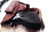 Walther PP Size Holster East German Military & Police Brown Leather Flap Type for 1001 Pistol PPK PPKS CZ50 CZ70 Fits Many 32 380 and 9x18 Makarov Cal - 9 of 13