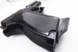 Smith & Wesson model 469 669 Grips Hard Black Polymer New Replacement S&W 9mm Compacts GR4669