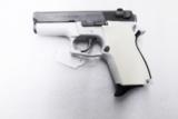 Smith & Wesson model 469 669 Grips Hard Imitation Ivory White Polymer New Replacement S&W 9mm Compacts GR4669W- 12 of 15