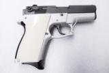 Smith & Wesson model 469 669 Grips Hard Imitation Ivory White Polymer New Replacement S&W 9mm Compacts GR4669W- 14 of 15