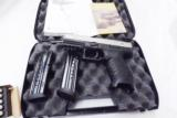 Walther 9mm model PPX M1 17 Shot 2 Magazines 3 Dot Sights Double Action Only 2790122 Hammer Fired- 3 of 14