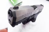 Walther 9mm model PPX M1 17 Shot 2 Magazines 3 Dot Sights Double Action Only 2790122 Hammer Fired- 4 of 14