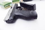 Walther 9mm model PPX M1 17 Shot 2 Magazines 3 Dot Sights Double Action Only 2790122 Hammer Fired- 12 of 14