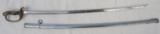 Japanese Army Dress Sword with Crest - 1 of 5