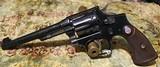Smith & Wesson K-22 Outdoorsman 22 revolver