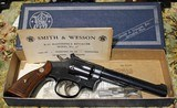Smith & Wesson Model 17 22 revolver