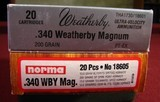 Weatherby Mark V Lazermark .340 Wby - 11 of 16