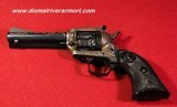 Colt New Frontier .22, Engraved