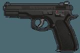 CZ-USA Shadow Tac II 9mm 4.6in (CZ Custom) - 1 of 1