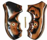 Ruger SP101 Revolver Tigerwood Grips - 1 of 1