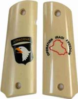 101st Airborne Colt 1911 Operation Iraqi Freedom Military Grips - 1 of 1