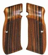 CZ M75 & M85 Tigerwood Grips