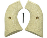 Ruger Vaquero XR3-Red Ivory-Like Grips Floral Pattern - 1 of 2