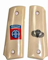 82nd Airborne Colt 1911 Officers Model Military Grips - 1 of 3