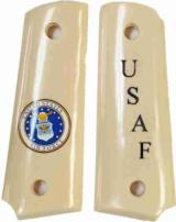 US Air Force Colt 1911 Officers Model Military Grips - 1 of 1