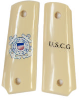 US Coast Guard Colt 1911 Officers Model Grips - 1 of 1