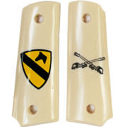 1st Cavalry Colt 1911 Officers Model Grips - 1 of 3