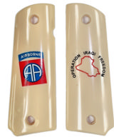 82nd Airborne Colt 1911 Operation Iraqi Freedom Military Grips