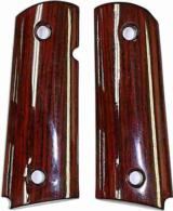 Colt New Agent SA Cocobolo Rosewood Grips - 1 of 1
