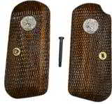 Colt 1903 & 1908 Auto Walnut Checkered Grips - 1 of 1