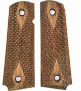 Colt 1911 Walnut Checkered Grips - 1 of 2