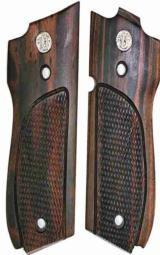 Smith & Wesson Model 39 Auto Tigerwood Grips - 1 of 1