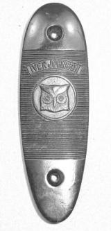Iver Johnson Large Shotgun Buttplate: 12 Gauge Champion - 1 of 1