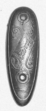 Iver Johnson Champion Buttplate - 1 of 1