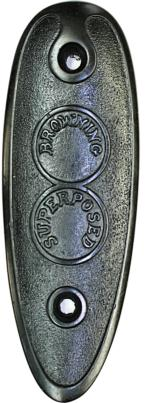 Browning Pre-War Superposed Buttplate - 1 of 1