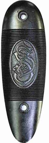 Sauer & Sohns Buttplate, S S Logo - 1 of 1