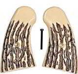 Colt Python, Small Panel, Imitation Jigged Bone Grips - 1 of 2