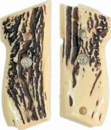 Smith & Wesson Models 39 & 52 Stag-Like Grips With Medallions - 1 of 1