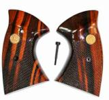 Colt J Frame MKIII Goncalo Alves, Checkered With Medallions - 1 of 1