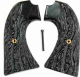 Colt Bisley Imitation Jigged Buffalo Horn Grips - 1 of 1