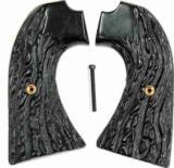 Colt Bisley Imitation Jigged Buffalo Horn Grips - 1 of 1