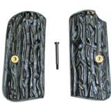 Colt 1903 & 1908 Imitation Jigged Buffalo Horn Grips - 1 of 1